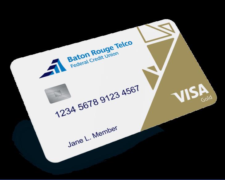 Baton Rouge Telco Visa credit card